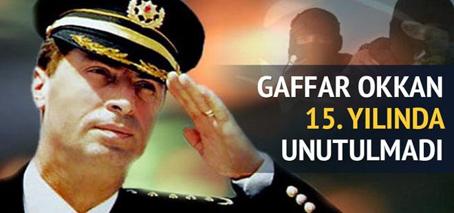Gaffar Okkan 15. yılında unutulmadı
