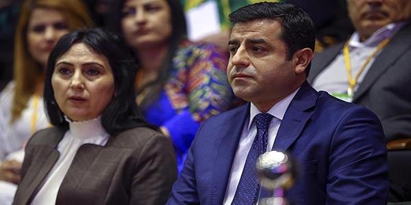 Demirtaş ve Yüksekdağ tekrar genel başkan