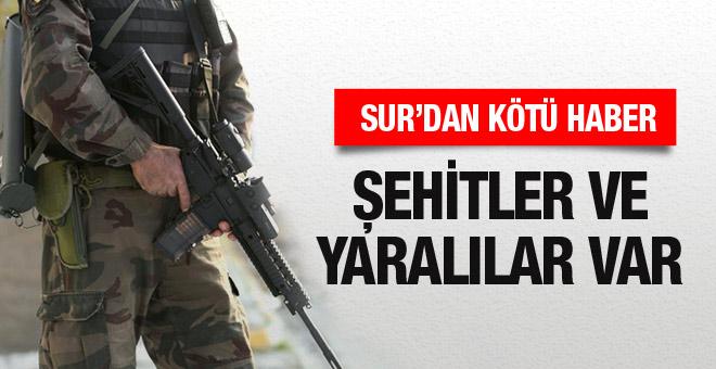 Diyarbakır Sur'da çatışma çok sayıda şehit ve yaralı var
