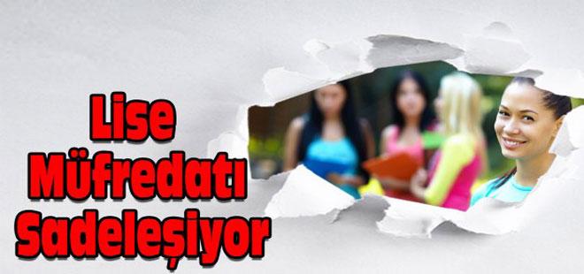MEB'den Lise Müfredatına Yeni Düzenleme
