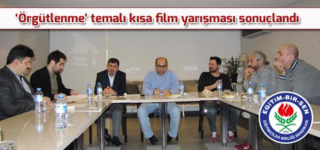 'Örgütlenme' temalı kısa film yarışması sonuçlandı