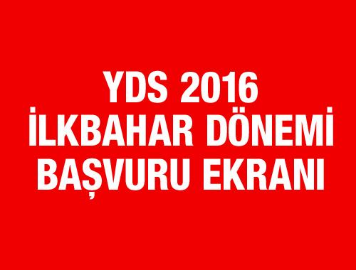 YDS 2016 İlkbahar başvuru tarihi yarın başlıyor