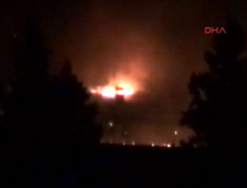 Nusaybin'de PKK'lılar 2 okulu ateşe verdi