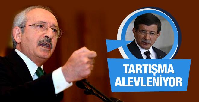 Kılıçdaroğlu'ndan Davutoğlu'na tepki!