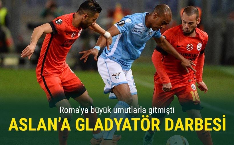 Galatasaray Roma'ya boyun eğdi