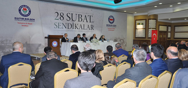 Eğitim-Bir-Sen'den 28 Şubat Paneli