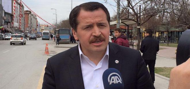 Ali Yalçın, Tankların Yürüdüğü Sincan'da Konuştu