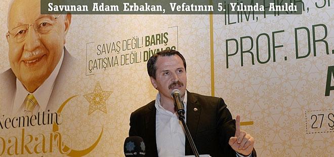 Ali Yalçın: Rol Modelimiz Erbakan