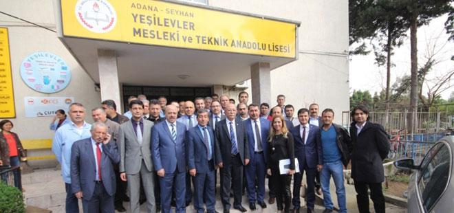 Koncuk Adana'da Eski Okulunu Ziyaret Etti