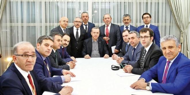 Erdoğan:Bu iş burada bitmez