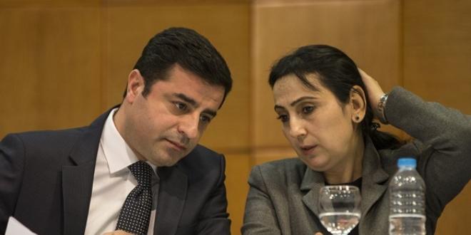 Demirtaş ve 5 HDP'li vekilin fezlekesi Başbakanlık'ta