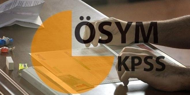 ÖSYM, KPSS A Grubu testlerini güncellemeli