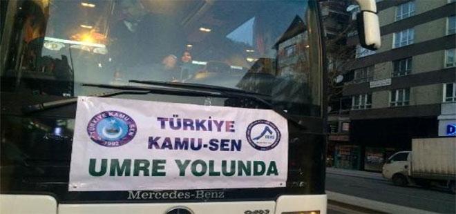 """Türkiye Kamu-Sen """"Umre"""" Kafilesi Yola Çıktı"""