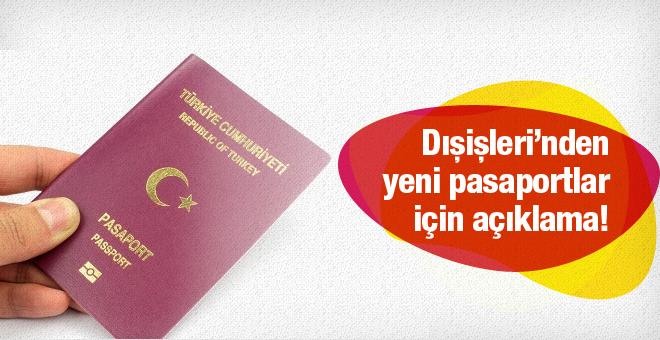 Pasaportlar yenilenecek