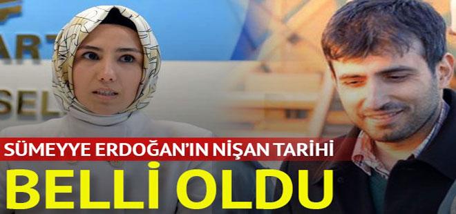 Sümeyye Erdoğan, bugün Selçuk Bayraktar ile nişanlanıyor