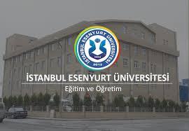 İstanbul Esenyurt Üniversitesi Öğretim Üyesi alım ilanı
