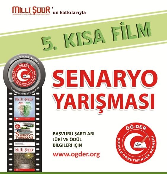 ÖĞ-DER'den 5.Kısa Film Senaryo Yarışması