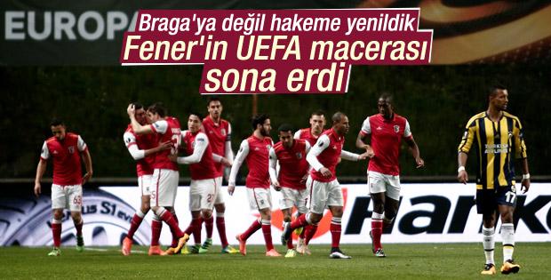 Fenerbahçe UEFA Avrupa Ligi'ne hakeme yenildi