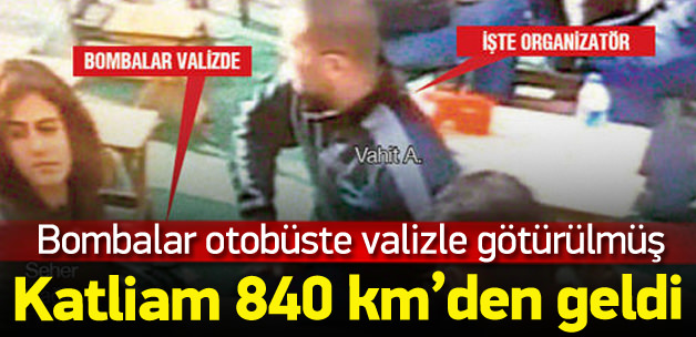 Kızılay bombası, Ankara'ya valiz içinde götürülmüş