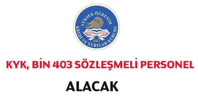 1403 Sözleşmeli Personel Alım İlanı