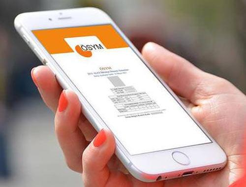 YGS sonuçları ÖSYM mobil giriş ekranı 2016