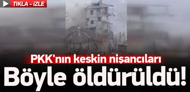 Keskin nişancı PKK'lı böyle öldürüldü
