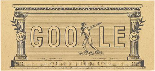 Modern Olimpiyatlar nedir? Modern Olimpiyatlar oyunlarının 120. yıl dönümü Doodle oldu!