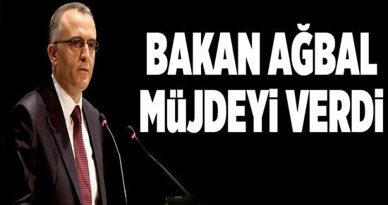 Maliye Bakanı Ağbal'dan Vergi Dilimi Müjdesi