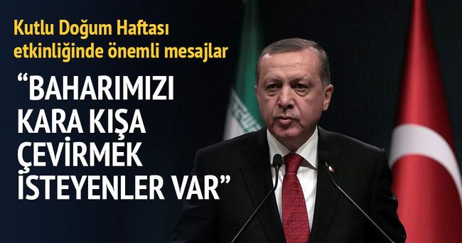 Erdoğan'dan Kutlu Doğum mesajları
