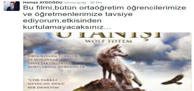 Hamza Aydoğdu'dan Film Önerisi: Kurdun Uyanışı
