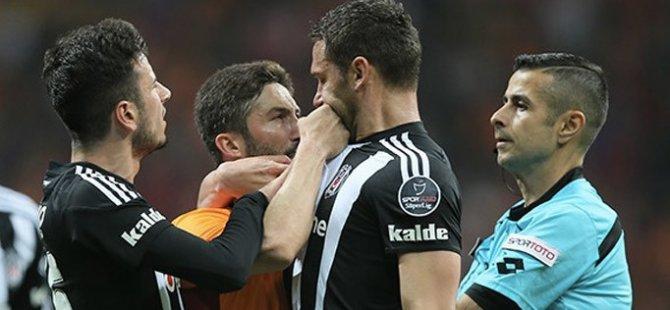 Galatasaray Beşiktaş derbisinde gergin anlar yaşandı