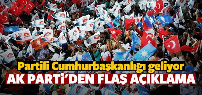 Partili Cumhurbaşkanlığı Geliyor! Ak Parti'den Flaş Açıklama