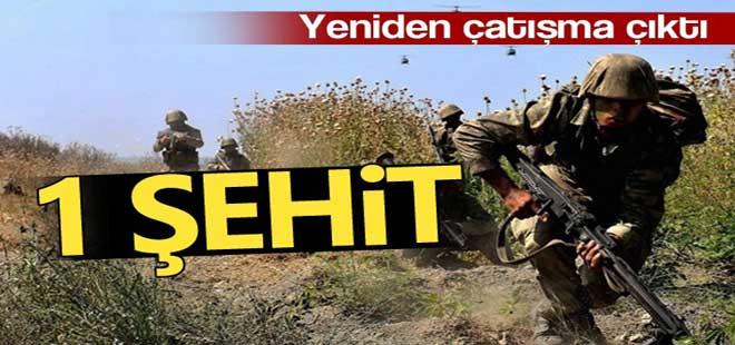 Hakkari'de çatışma: 1 şehit, 2 yaralı