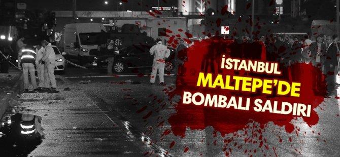Maltepe'de bombalı saldırı: 4 yaralı