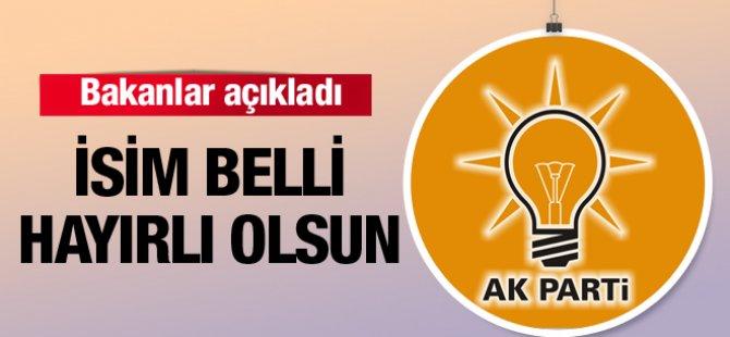 AK Partili bakanlardan flaş açıklama! İsim belli hayırlı olsun