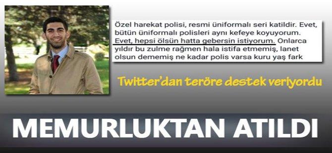 PKK'ya destek veren akademisyen memurluktan atıldı
