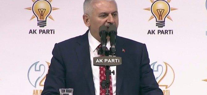 Binali Yıldırım AK Parti kongresinde konuşuyor