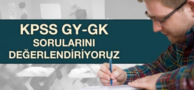 2016 KPSS Soru ve Cevapları! - TÜM ALANLAR - KPSS HABERLERİ
