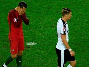 Portekiz ile Avusturya 0-0 berabere kaldı - Ronaldo bugünü unutamayacak!