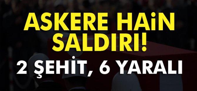 Şemdinli'de hain saldırı: 2 şehit, 6 yaralı