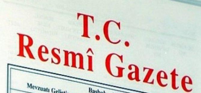 12 Eylül 2017 Tarihli Resmî Gazete