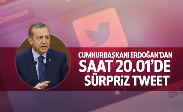 Cumhurbaşkanı Erdoğan'dan Özel Tivitler