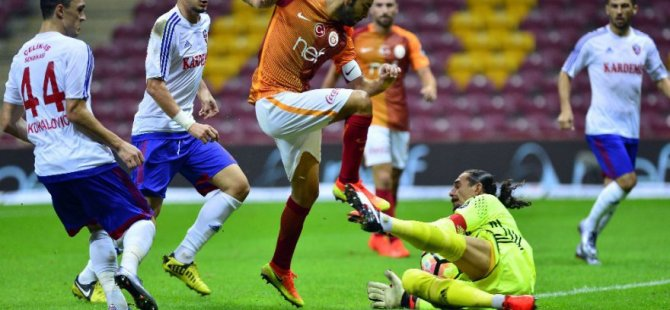 Galatasaray son dakikada kazandı