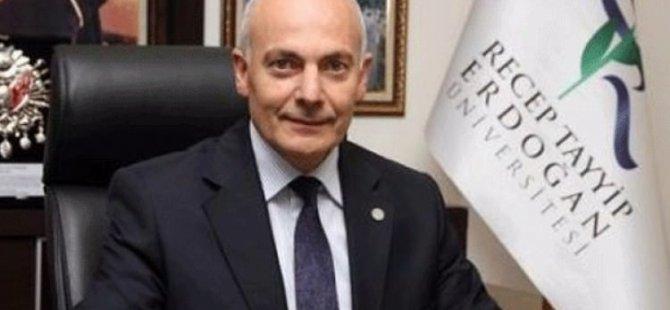 RTE Üniversitesi'nin eski rektörü tutuklandı