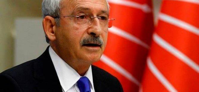 Kılıçdaroğlu'ndan adli yıl açılış törenine tepki