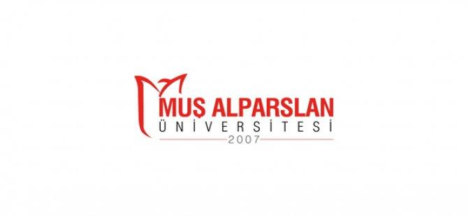 Muş Alparslan Üniversitesi Öğretim Üyesi Alım İlanı