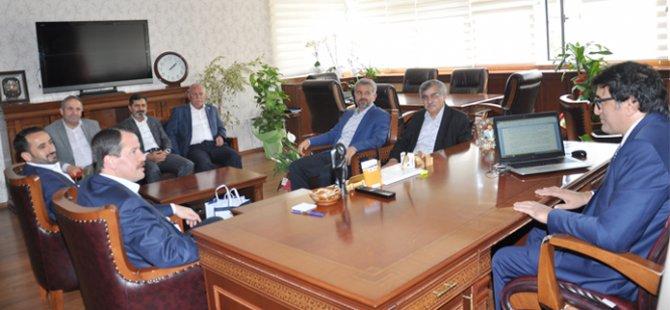 EBS'den TTK Başkanı Durmuş'a Ziyaret