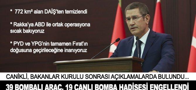'39 bombalı araç, 19 canlı bomba hadisesi engellendi'