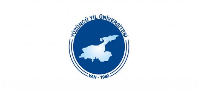 Yüzüncü Yıl Üniversitesi Sözleşmeli Personel Alım İlanı