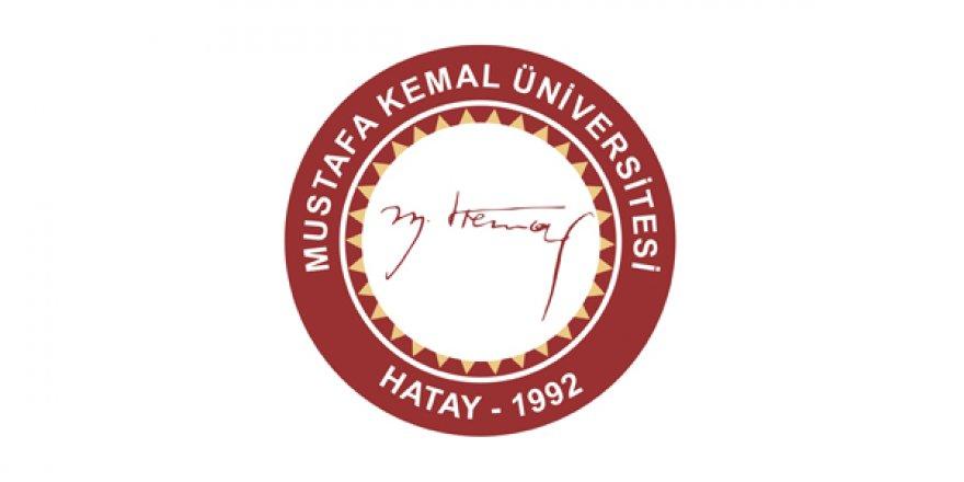 Mustafa Kemal Üniversitesi Öğretim Üyesi Alım İlanı